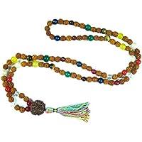 Mogul Interior Meditation Mala Beads Nine Planets Navgraha Prayer Empowers All Free Yantra Red
