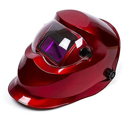 Babimax Masque de Soudage Protectrice Anti-éclaboussure Casque Intégral de Soudure