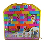 #4: Multicolor Building Blocks Toy for Kids (Age 2+) Best Gift Toy with a Packing Bag (Set of 141Pcs)