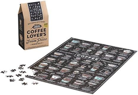 Les Amateurs de café café café Puzzle | Animal Scie | 500 pièces | Pour Gagner Un Haut Admiration Et Est Largement Trusted Et à L'étranger  f93744