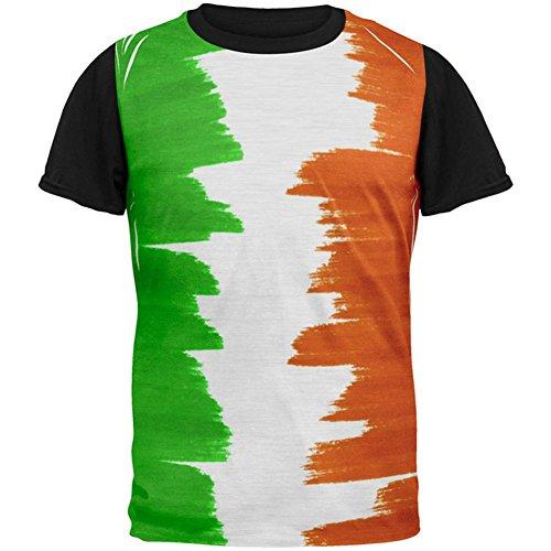 Patricks St Für Kinder Tag Shirts (St Patricks Tag Farbe mich Iren in aller Herren Schwarz T Shirt Multi X-LG)