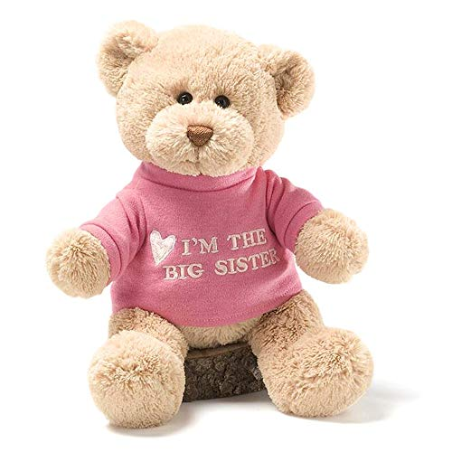 Gund 320154 - Plüschtier, Big Sister Bear (Big Stofftier Bear)