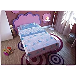 Disney 33634Completo Cama, 100% algodón, Azul, Individual, 280x 150x 23cm