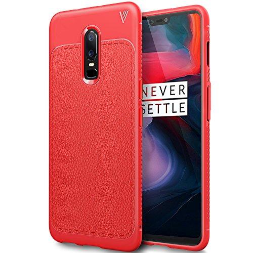 Oneplus 6 Cover, Custodia Oneplus 6, iBetter Oneplus 6 protettiva Custodia, Protezione durevole, Compatibilita esatta per la Oneplus 6 Smartphone.(rosso)