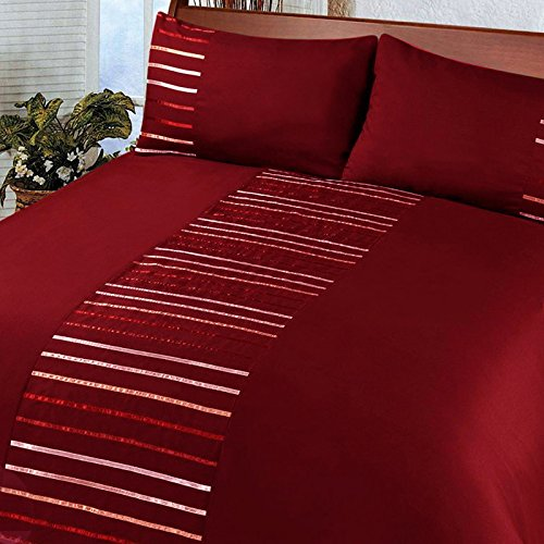 Red duvet covers for Housse de couette beige et rouge