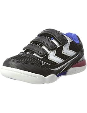 Hummel Root Jr Velcro, Zapatillas Deportivas para Interior Unisex Niños