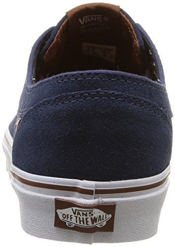 Vans U Brigata Suede, Baskets Basses Mixte Adulte Bleu (Suede/Insignia Blue/Plus)