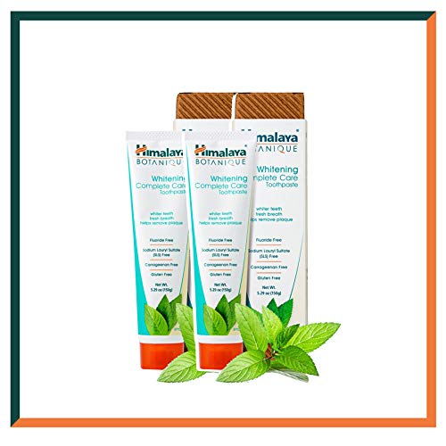 Himalaya Botanique Toothpaste - Todo Natural Sin Fluoruro