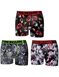 Freegun - lot de 3 boxers homme