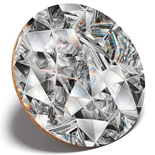 #3234 Untersetzer mit Kaleidoskop-Muster, rund, für Küche, Student, Kinder, Geschenk -