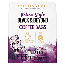 Percol Dark Roast Café Noir Ground Coffee Bags 10 Bags