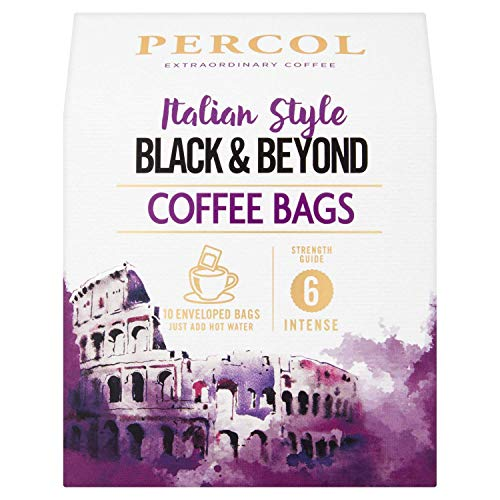 Percol Italian Style Black & Beyond Ground Coffee Bags 10 Bags (Pack fo 3) 51HGsJpFPaL