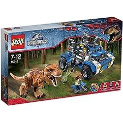LEGO - Tras el T-Rex, multicolor (75918)