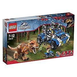 LEGO-Jurassic-World-75918-Auf-der-Fhrte-des-T-Rex