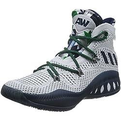 Adidas Crazy Explosive Primeknit, Zapatillas de Baloncesto para Hombre, Blanco (Ftwbla/Maruni/Grpumg), 50 EU