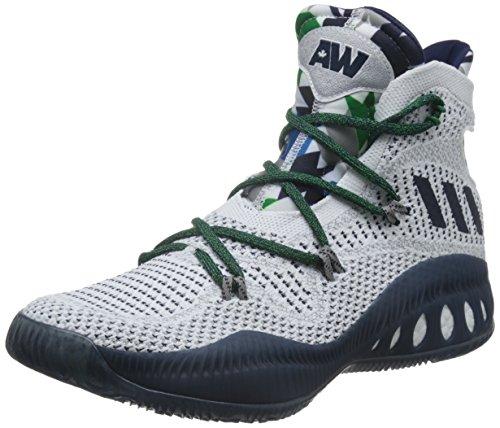 adidas Crazy Explosive, Basket homme Blanc Cassé - Blanco (Ftwbla / Maruni / Grpumg)