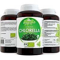Bio Chlorella Tabletten Zertifizierte Ergänzung 375 Bio Presslinge 400 mg