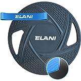 ELANI Premium Balance Board   inkl. Fitnessband & Sportübungen   robuster, rutschfester Ganzkörpertrainer   Balanceboard als