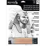 Reeves Malen nach Zahlen Skizzieren Sphinx