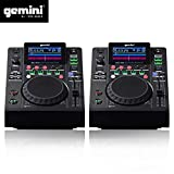 Doppia Piattaforma Unità LCD Gemini mdj-500professionisti USB MP3Media Player modalità Midi