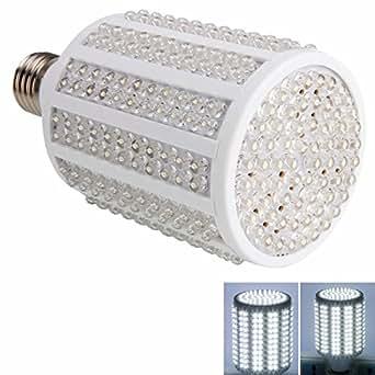 E27 18W 330 LED 1600 Lumen 7000-8000K Pure White Light LED Corn Light Bulb (220V)