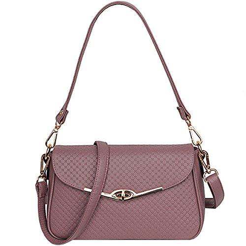 LAIDAYE Damenmode Handtaschen-Schultertasche-Münzenbeutel Kurierbeutel Kleines Quadrat-Paket 5