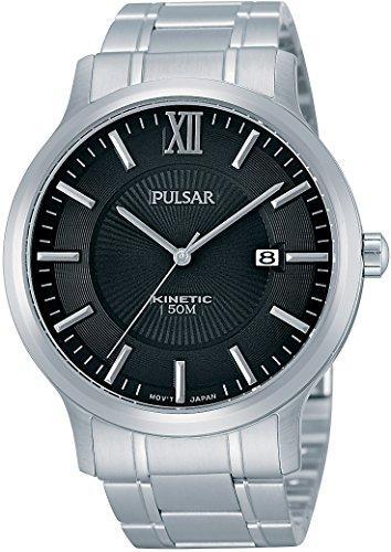 Pulsar Herren-Armbanduhr Analog Quarz Edelstahl PAR185X1
