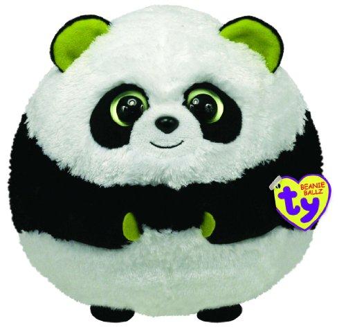 TY 38912 - Plüschtier Beanie Ballz, Bonsai Ball X-Large Panda
