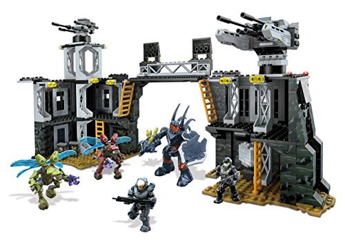 Mega-Bloks-Toy-Halo-UNSC-Firebase-637-Piece-Building-Playset-Includes-5-Action-Figures