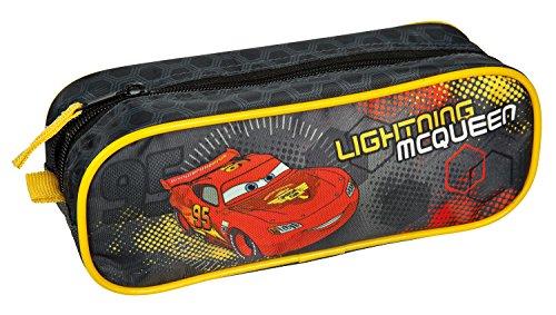 Undercover caim0690–Estuche Escolar de Disney Cars, Aprox. 23X 8X 7cm, Color Rojo