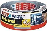 Tesa Extra Power universal Reparaturband/56389 in schwarz weiß und silber zur Auswahl (12, silber)