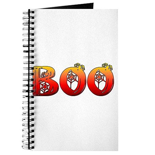 CafePress-BOO Halloween Geschenke und Dekorationen-Spiralbindung Journal Notebook, persönliches Tagebuch, Dot Grid