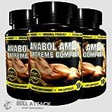 ANABOL AMPIX - 300 CAPSULES PACK - Potent Anabolic Blend - Arginine, Creatine Ethyl Ester, Taurine, Beta Alanine - 1st CLASS P&P