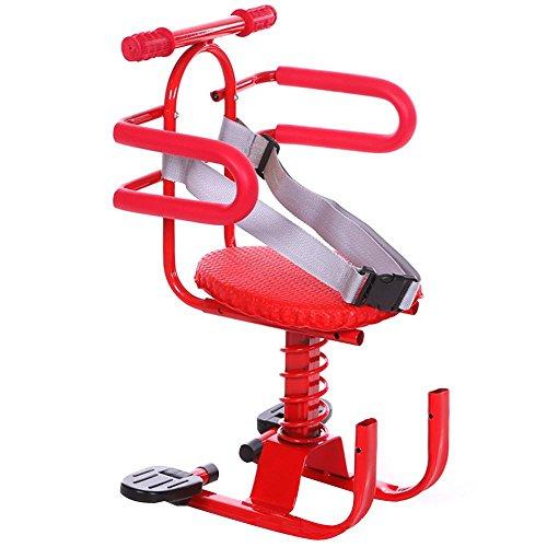 NACHEN Elektrisches Fahrrad-Kind-Sicherheits-Sitz-Batterie-Roller-schockiertes Kind-Baby-vorderer Stuhl, red