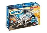 Eitech 00071 - Metallbaukasten Helikopter Set mit solarbetriebenem Motor, 135-teilig
