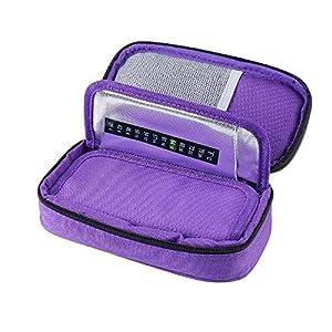 CMCC Insulin kühltasche Diabetiker Medikamenten Kühltasche Portable Travel Kühlbox für Insulininjektion und Medikamente