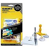 Este DIY Car Windshield Repair Kit Set with Windshield Repair Resin for Scratch/Chip Crack/Bulls-Eye/Spider Web/Star-Shaped/Half-Moon Crescents
