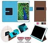reboon Hülle für Blaupunkt Polaris 808 Tasche Cover Case Bumper | in Braun | Testsieger