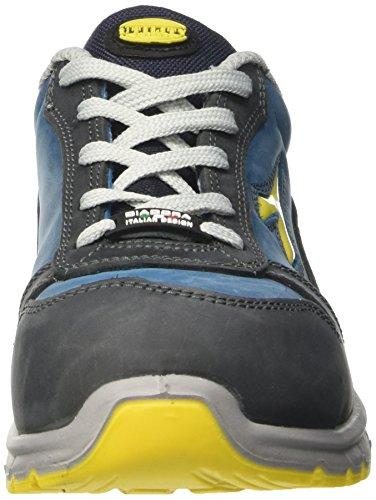 Diadora Unisex-Erwachsene Run Low S3 Arbeitsschuhe Blau (Blu Scuro/blu Cielo)