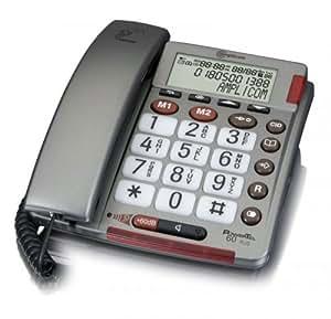 amplicomms PowerTel 60 plus, téléphone grande touche