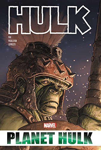The strongest one there is, in his most savage story ever! After a brutal battle between the Hulk and the Fantastic Four, Earth's greatest heroes decide that for the good of all - they must shoot the Hulk into space! But when he lands on the savage w...
