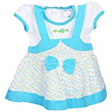 Little Life Baby Frock 100% Cotton in BL...