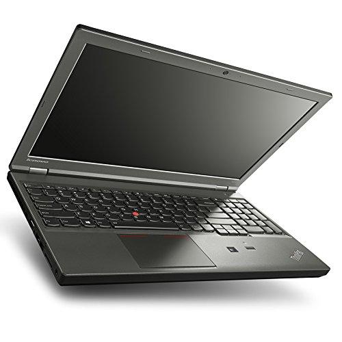 """Lenovo ThinkPad W541 - PC portatile da 15,6"""", FHD, Intel Core i7-4810MQ/2,80 GHz, 16 GB di RAM, SSD 240 GB, Nvidia Quadro K1100M, Webcam, Windows 7 Professional, colore: Nero"""