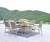 HTI-Line Terrassenmöbel Valetta Loungemöbel Gartenmöbel Garnitur
