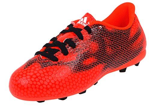 Adidas - F5 Fxg J, Scarpa Da Calcetto per bambini e ragazzi Rosso Solare