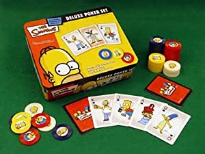 Simpsons Deluxe Poker Set