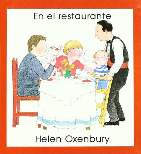 Primeros Libros De Imagenes: En El Restaurante por Helen Oxenbury