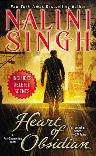 Heart of Obsidian: A Psy-Changeling Novel (Psy/Changeling Series Book 12) (English Edition) Psy Changeling Serie
