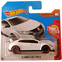 Hot Wheels 16 Honda Civic Type R - Serie Then and Now 1/10