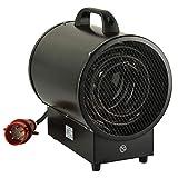 MODERN LIFE 9 KW Radiateur Soufflant Chauffage électrique Industriel Autoportant éTanche 3 Vitesses (55 W, 4500 W, 9000 W) avec Le Thermostat Silencieux